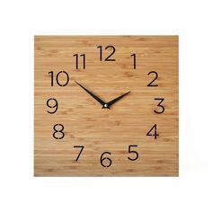 Modern Box Clock 12 inches