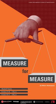 measure for measure poster - Pesquisa Google