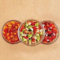 Savory Strawberry Salsa Jalapenos add a touch of heat to this refreshing blend of fresh avocados, cucumbers, and strawberries. Serve the salsa with colorful tortilla chips or as a topper for grilled fish.