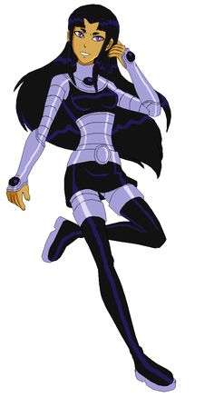 Blackfire belongs to DC Comics Teen Titans Art by ~Starfiire in Paint Tool SAI Blackfire Teen Titans Cosplay, Teen Titans Go, Batwoman, Nightwing, Dc Comics Characters, Female Characters, Teen Titans Blackfire, Villain Costumes, Black Fire