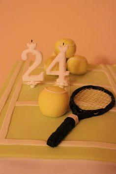 My Boyfriend's tennis cake