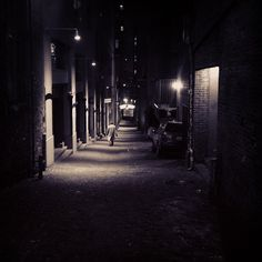 Friday night. Post Alley. Seattle, WA. He finished his cocktail with a nod of satisfaction, stood up from the bar and whisked away down a back alley and into the dark of night.