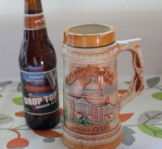 Check out this item in my Etsy shop https://www.etsy.com/listing/293188949/vintage-beer-stein-tourist-beer-stein