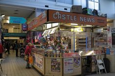 Castle News was one of many stalls at the market before it was closed almost a year ago...