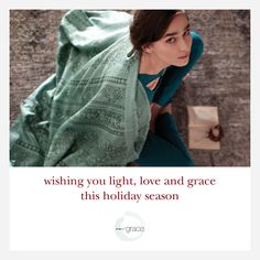 Think with #Grace and #love in all that you do #weargrace #happy #christmas to all.. x