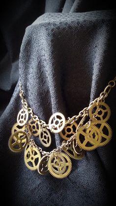 gearwheel necklace