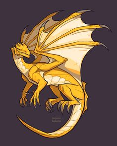 Yellow Dragon by oxboxer.deviantart.com on @DeviantArt