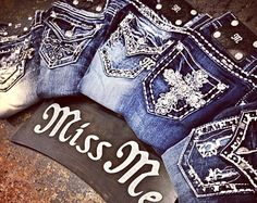 Love Miss Me....my favorite jeans ever!!! I have a bunch of them.