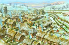 What is a burh? A burh is a walled town built by Saxons.