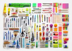 I'm going to want an office supply cc lol. Office Supply Eye Candy by ▲ freakout!, via Flickr
