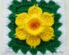 Instantáneo patrón descargar Crochet PDF por LubaDaviesAtelier
