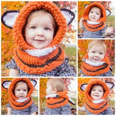 Wonderful DIY Cute Knitted Hooded Cowls  313071d0c1