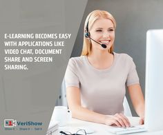 E-learning gains more flexibility with the use of real-time platforms  #Elearning  #ScreenSharing  #VideoChat