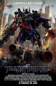 Transformers: Dark of the Moon poster (2011)