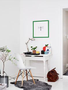 mi hogar escandinavo: Tour casa sueca: blanco con toques de color