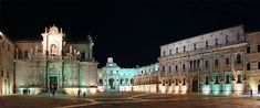 lecce-italy-evening-panorama Off the beaten path, Lecce, Puglia, Apulia, Italy