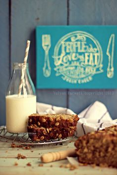 Cooking With Love: Banana Bread With Flaxseed and Pumpkin Seed