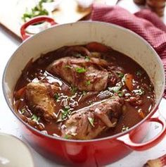 Classic Rabbit Stew Guess I'll try this one tonight with Glenn's Wabbits he got. Except he can cut up the meat. LOL