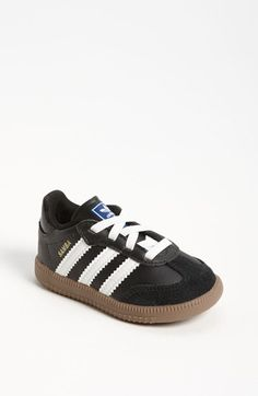 My son won't wear anything else. :)  adidas 'Samba' Sneaker (Walker & Toddler) available at #Nordstrom