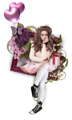 """""""Happy birthday, dear Wanda"""" by alicja2204 ❤ liked on Polyvore featuring art"""