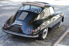 Porsche 356 with sunroof