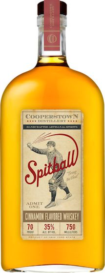 Cooperstown Distillery unveils their craft take on the cinnamon #whiskey craze with Spitball. | #BeverageDynamics Magazine