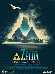 The Legend of Zelda: Link's Awakening - Marinko Milosevski Illustration and Design