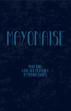 Mayonaise handrawn skinny line condensed all-caps free font