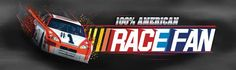 American Race Fan Rear Window Graphic Part #RWG1621 | See thru Racing Rear Window Graphics & Racing Window Decals