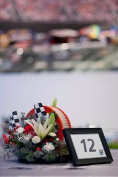 NASCAR gone classy!  Lily Greenthumb's Floral Artistry