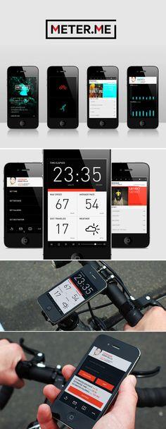 UI Inspiration May 2013 / big type & numbers
