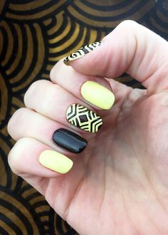 African style pattern Nail Stencils Set incredible nail by Unail