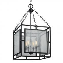 The Feiss Prairielands large pendant in dark weathered zinc provides abundant light to your home, while adding style and interest. Inspired by Prairie School architecture, the geometric motifs, linear silhouettes and Dark Weathered Zinc finis Square Chandelier, 5 Light Chandelier, Pendant Chandelier, Lantern Pendant, Chandeliers, Light Fixture, Wall Sconce Lighting, Wall Sconces, Pendant Lighting