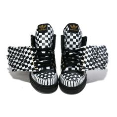 0327a066bc7f Find Jeremy Scott Adidas Black And White online or in Airyeezyshoes. Shop  Top Brands and the latest styles Jeremy Scott Adidas Black And White at ...