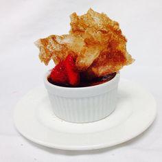 Clove crème burlee - Delicious!