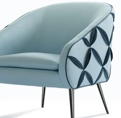 So, we're not shy. We love close-ups... our covers and contours are flawless! The award-winning Dali #chair. #designthinking #NAfurniture