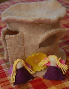 What to do with Kids | Handmade Holidays — Felt Fairy House Tutorial | Inner Child Fun