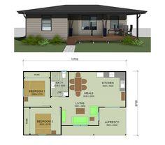 image result for floor plans l shaped 2 bedroom granny flats floorplans pinterest granny. Black Bedroom Furniture Sets. Home Design Ideas
