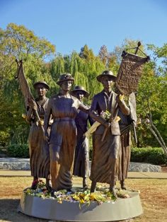 Suffragette monument, Centennial Park, Nashville, TN