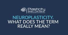 "Dr. Antonucci discusses what the term ""neuroplasticity"" really means! Learn more at plasticitybraincenters.com. https://plasticitybraincenters.wistia.com/medias/d1gbuqkv8r #PlasticityBrainCenters #CarrickTrained #Neuroplasticity #BrainPower #Learn"