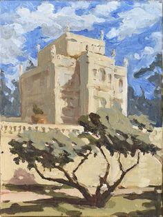 Maciej Baran, Casino del Bel Respiro, Villa Doria Pamphili, Rzym, 24 x 18 cm