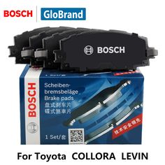 4pcs/lot BOSCH Car Brake Pads Front For Toyota COLLORA 1.6 1.8 2.0 LEVIN 1.6 i 0986AB1612 #Affiliate