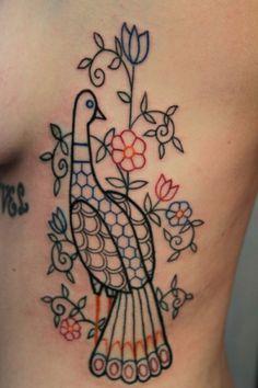 Looks bit like a folk art tattoo.