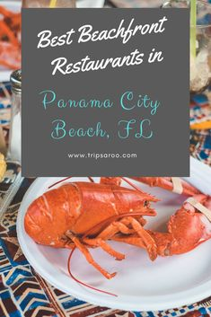 With over 12 years of taking beach vacation in Panama City Beach, we know exactly where to go. Get the scoop on which are the absolute Best Beachfront Restaurants in Panama City Beach, Fl. Panama City Beach Restaurants, Panama City Beach Florida, Florida Vacation, Panama City Panama, Florida Beaches, Destin Florida, Sandy Beaches, Tonga, Beaches Near Orlando