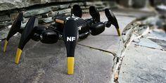 Kanibot concept mini surveillance robot, by Norio Fujikawa
