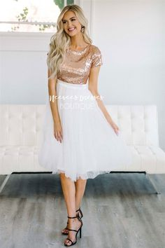 Modest Bridesmaid Dresses, Modest Dresses, Dresses With Sleeves, Maxi Dresses, Sequin Bridesmaid, Modest Clothing, Modest Fashion, Bridesmaids, Short Sleeves