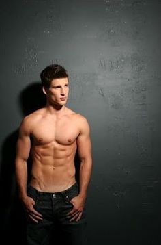 Parker Young. Those might be the best abs I've ever seen.