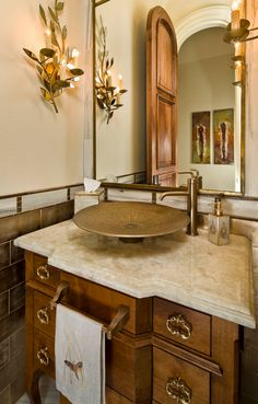 Powder Room design by Mike Molthan