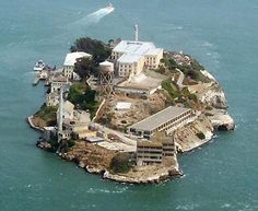 Alcatraz – The infamous San Francisco Bay's prison, a notorious penitentiary, known for its cold dark cells, saw many murders, riots and suicides during its 29 years of service. Now a national museum, it's said to be haunted, with tales of inexplicable sounds, cell doors closing on their own, disembodied screams and scary apparitions.