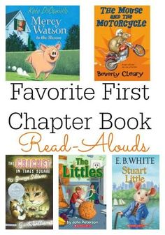 Favorite First Chapter Book Read-Alouds   Guest post of Growing Book by Book for This Reading Mama